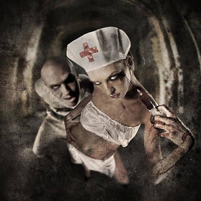 Disturbed Poster by Torgeir Ensrud