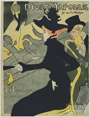 Divan Japonais Poster by Henri de Toulouse