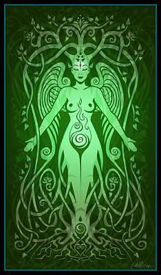 Divine Life Poster by Cristina McAllister