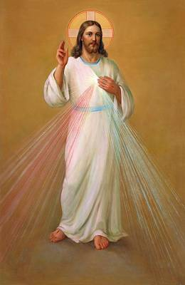 Divine Mercy - Divina Misericordia Poster by Svitozar Nenyuk
