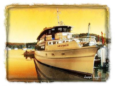 Do-00234 Lady Kendall In Sunset Poster by Digital Oil