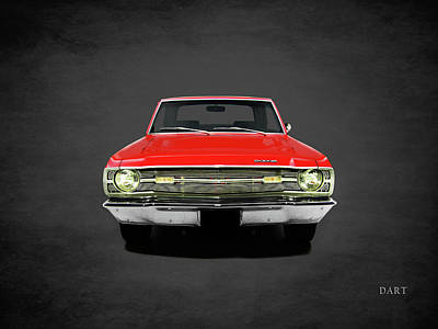 Dodge Dart 340 Poster by Mark Rogan