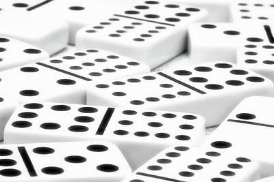 Dominoes II Poster by Tom Mc Nemar