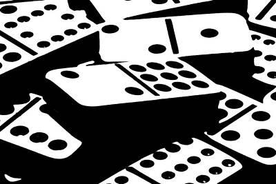 Dominoes IIi Poster by Tom Mc Nemar
