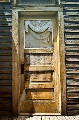 Doors Of St Elmo I Poster by Ellen Heaverlo