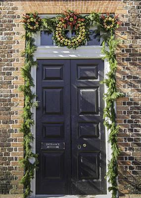 Doors Of Williamsburg 46 Poster by Teresa Mucha