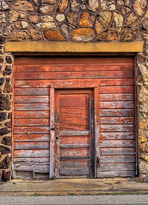 Doorway Of The Past Poster by Douglas Barnett