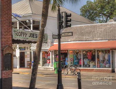 Downtown Key West Poster by Juli Scalzi