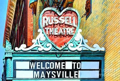 Downtown Maysville Kentucky # 4 Poster by Mel Steinhauer