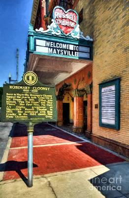 Downtown Maysville Kentucky Poster by Mel Steinhauer