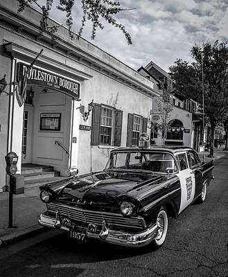 Doylestown Borough Police Cruiser Poster by Michael Brooks