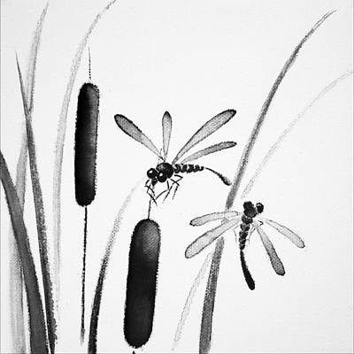Dragonfly Serenity Poster by Oiyee At Oystudio