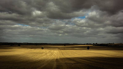 Dramatic Farmland Poster by Chris Fletcher