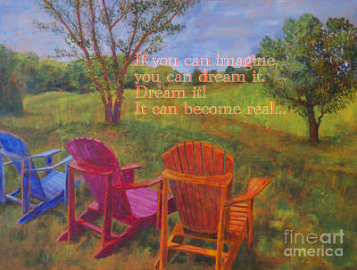 Dream It Poster by Arthur Witulski