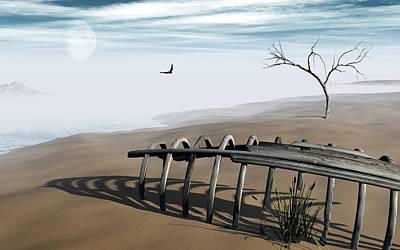 Dream Lake Poster by Richard Rizzo