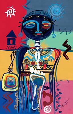 Dreaming Of Africa Poster by Oglafa Ebitari Perrin