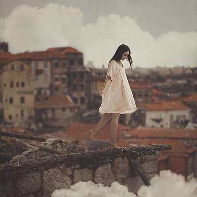 Dreams In Old Porto Poster by Anka Zhuravleva