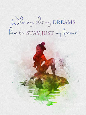 Dreams Poster by Rebecca Jenkins