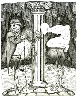 Drinking June Poster by Zelde Grimm