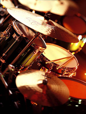Drums Poster by Robert Ponzoni