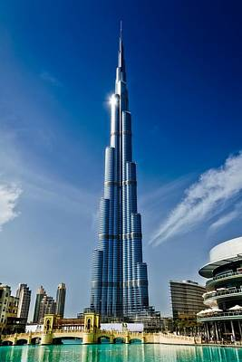 Dubai Tower Poster by Mountain Dreams