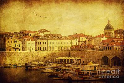 Dubrovnik Poster by Andrew Paranavitana