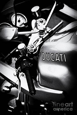 Ducati Ps1000le Motorcycle  Poster by Tim Gainey