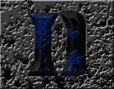 Duke Blue Devils 1e Poster by Brian Reaves