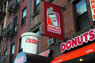 Dunkin' Donuts Poster by Agnes Czekman