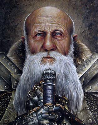 Dwarf Lord Poster by Brent Schreiber