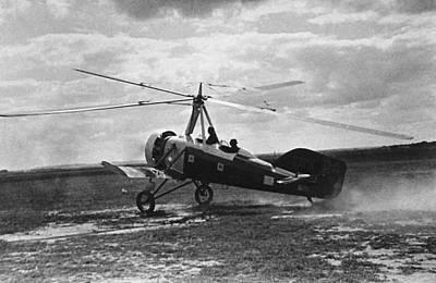 Early Soviet Autogyro, 1932 Poster by Ria Novosti