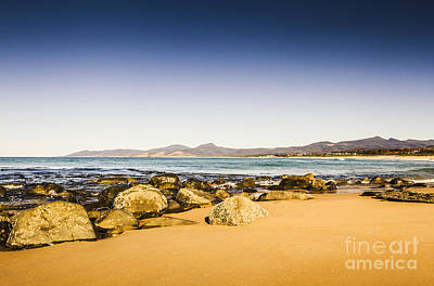 East-coast Tasmanian Landscape Poster by Jorgo Photography - Wall Art Gallery