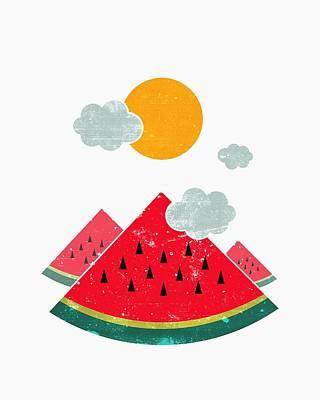 Eatventure Time Poster by Mustafa Akgul