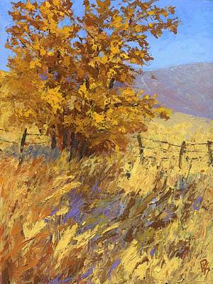 Edge Of Autumn Poster by David King