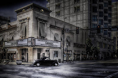 Egyptian Theater Boise Idaho_hdr Poster by Michael Rankin
