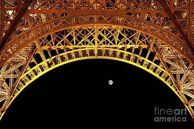 Eiffel Tower Poster by Joerg Lingnau