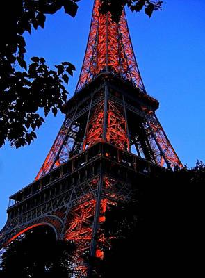 Eiffel Tower Poster by Juergen Weiss