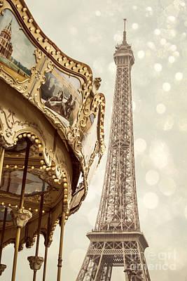 Eiffel Tower Poster by Juli Scalzi