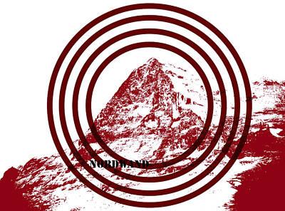 Eiger Nordwand Poster by Frank Tschakert