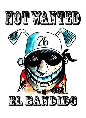El Bandido  Poster by Mark Robinson