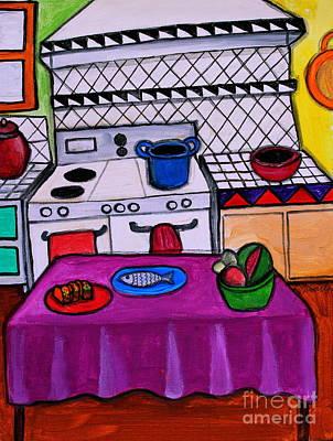 El Cocina Poster by Pristine Cartera Turkus