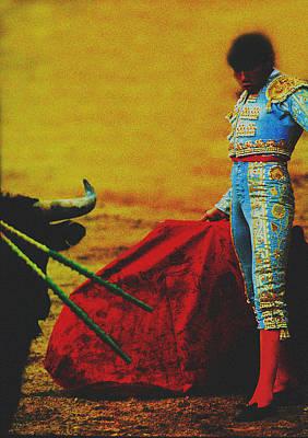 El Torero Poster by Michael Mogensen