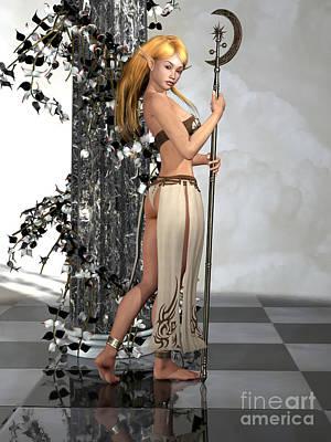 Elf Princess Poster by Alexander Butler