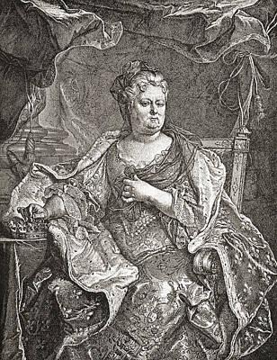 Elisabeth Charlotte Princess Palatine Poster by Vintage Design Pics