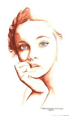 Elle Poster by Karl Opanowicz