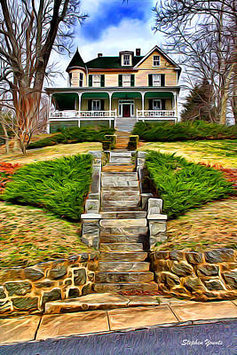Ellicott City House Poster by Stephen Younts