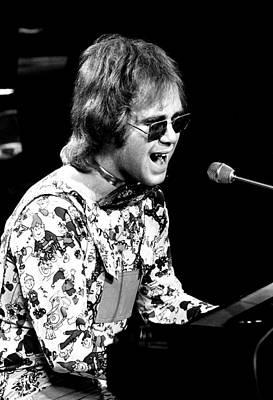 Elton John 1970 #3 Poster by Chris Walter