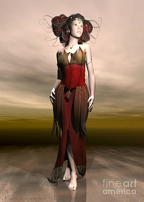 Elvin Princess  Poster by Sandra Bauser Digital Art