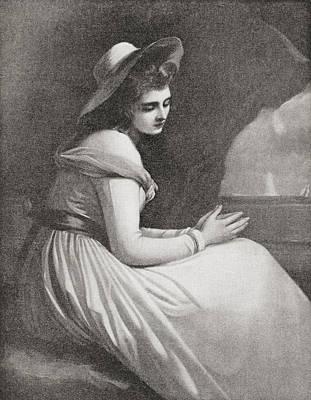 Emma, Lady Hamilton, 1765 - 1815 Poster by Vintage Design Pics