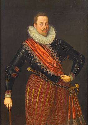 Emperor Matthias Poster by Lucas van Valckenborch